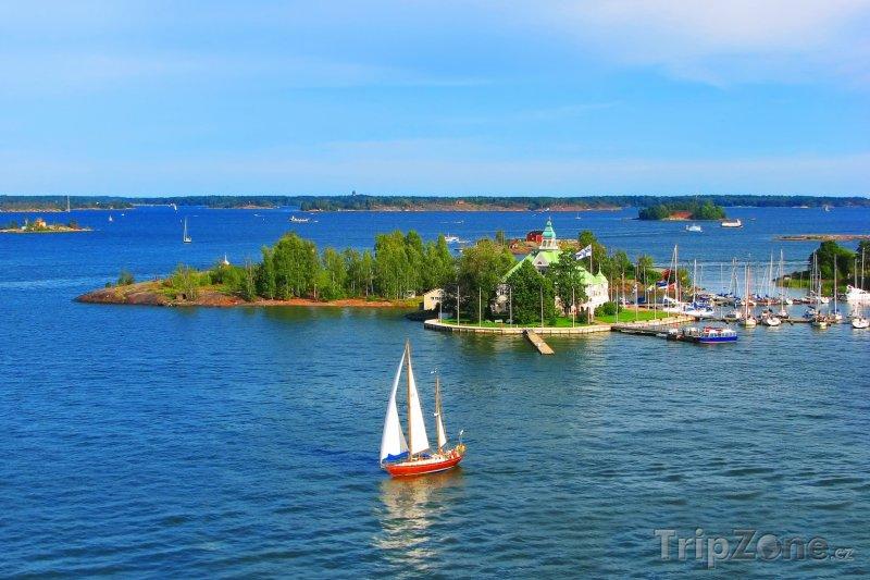 Fotka, Foto Baltské moře u Helsinek (Finsko)