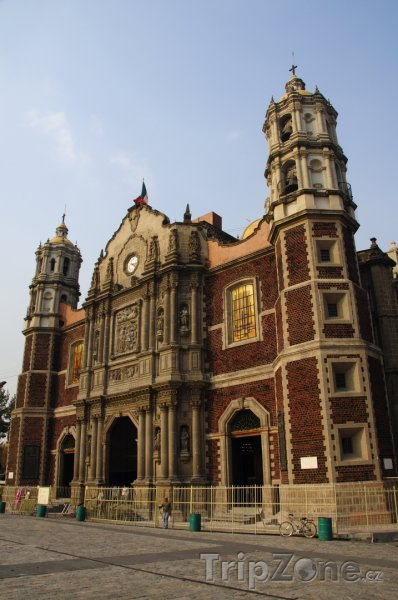 Fotka, Foto Bazilika v Mexico City (Mexiko)