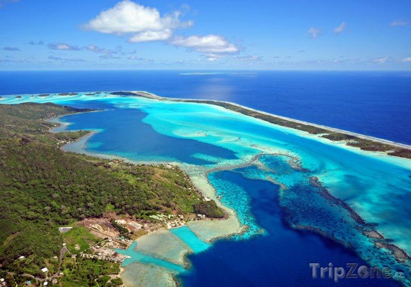 Fotka, Foto Bora Bora panorama (Francouzská Polynésie)