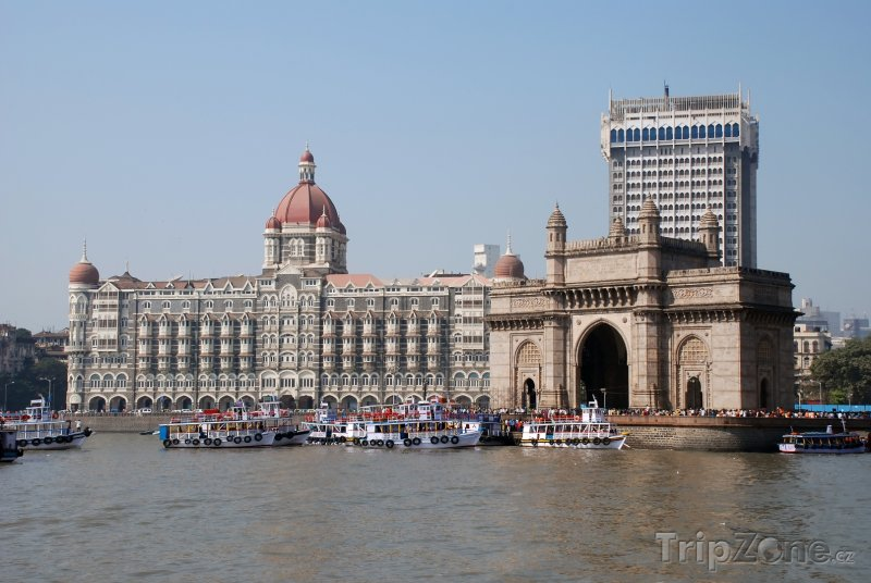 Fotka, Foto Brána Indie v Bombaji (Indie)