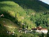 Buddhistický klášter Rinpung Dzong