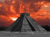 Chichén Itzá, Kukulcánova pyramida