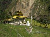 Chrám Gom Kora ve městě Trashigang