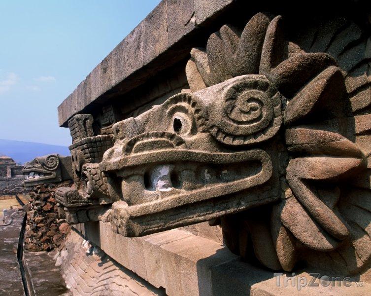 Fotka, Foto Chrám v Teotihuacánu (Mexiko)