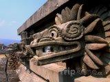 Chrám v Teotihuacánu
