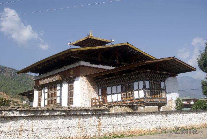 Fotka, Foto Chrám ve městě Paro (Bhútán)