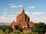 Chrám ve starověkém městě Bagan