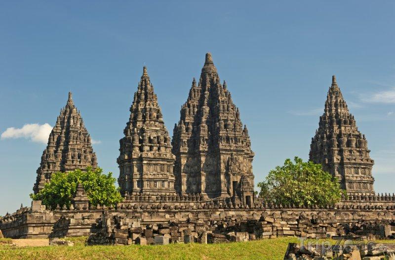 Fotka, Foto Chrámový komplex Prambanan na Jávě (Indonésie)