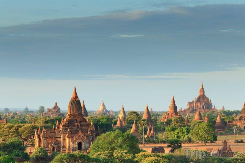 Fotka, Foto Chrámy v Baganu (Barma)