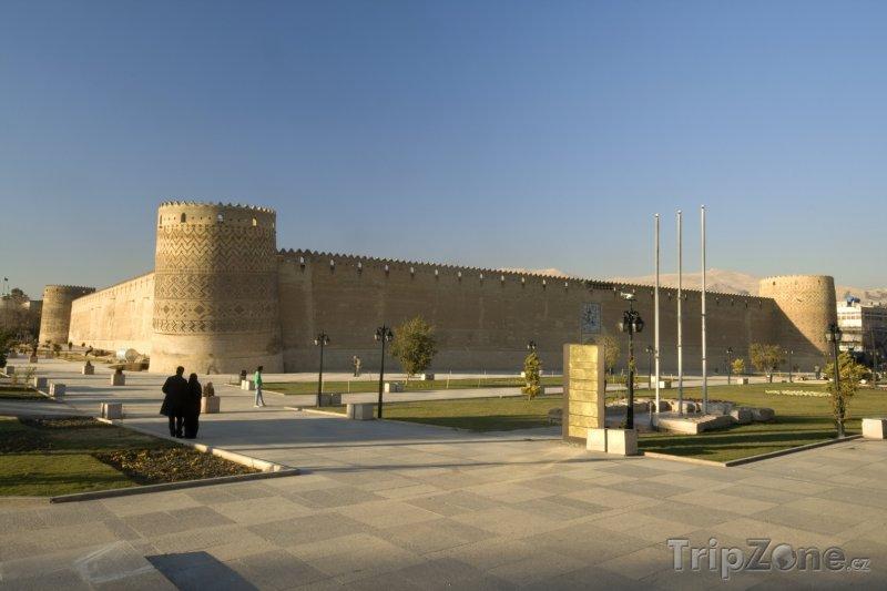 Fotka, Foto Citadela Karíma Chána v Širázu (Írán)