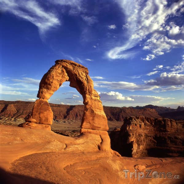 Fotka, Foto Delicate Arch v Utahu (USA)