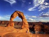 Delicate Arch v Utahu