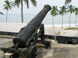 Dělo na hradě Elmina