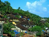 Domy na okraji džungle