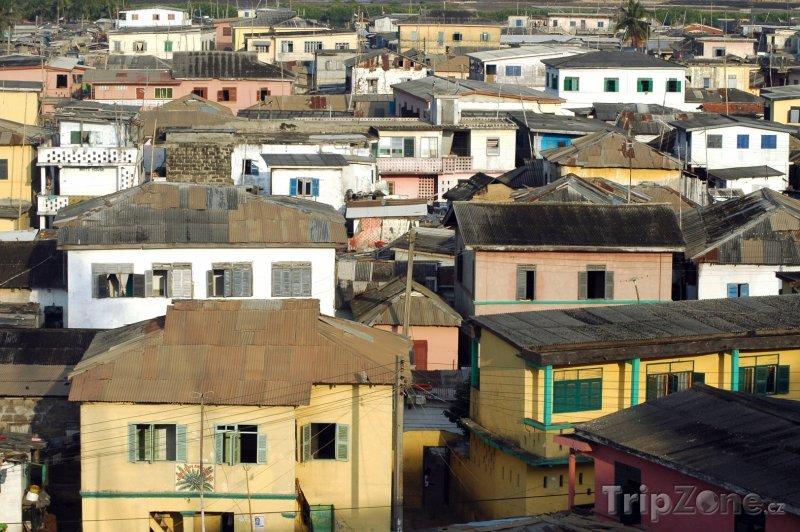 Fotka, Foto Domy ve městě Elmina (Ghana)