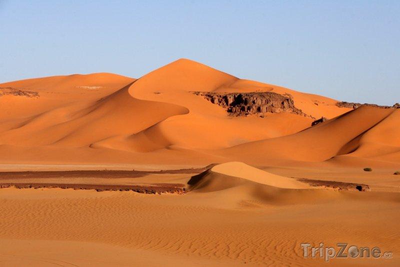 Fotka, Foto Duny na Sahaře (Alžírsko)