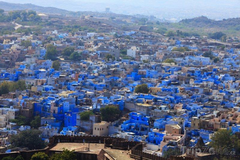 Fotka, Foto Džódpur, Modré město (Indie)