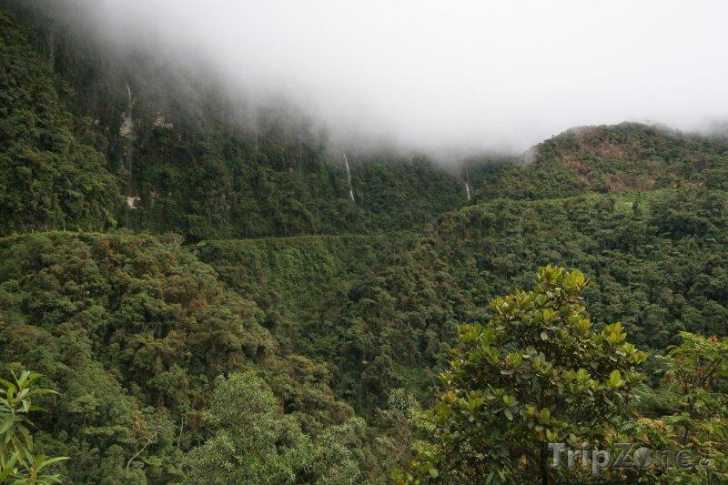 Fotka, Foto El Camino de la Muerte, silnice smrti (Bolívie)