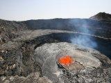 Erta Ale, činná čedičová štítová sopka
