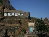 Farmářské domy na ostrově Santo Antão