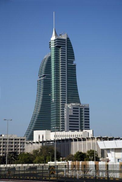 Fotka, Foto Finanční centrum v Manámě (Bahrajn)