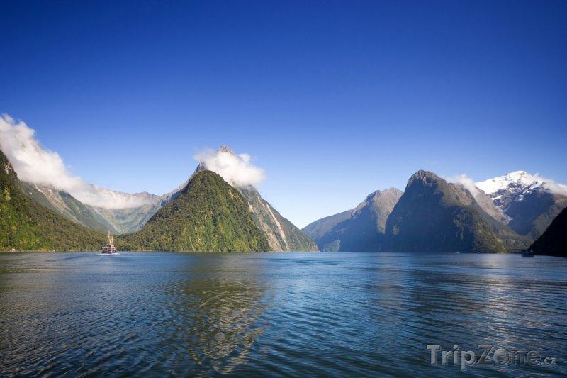 Fotka, Foto Fjord Milford Sound (Nový Zéland)