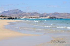 Fuerteventura, pláž Playa de Sotavento