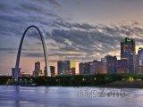 Gateway Arch ve městě St. Louis