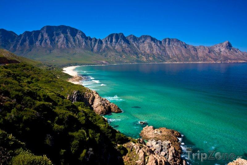 Fotka, Foto Gordon's Bay poblíž městečka Strand (Jihoafrická republika)