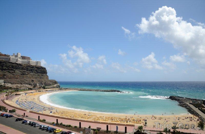 Fotka, Foto Gran Canaria, pláž v obci Mogán (Španělsko)