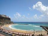 Gran Canaria, pláž v obci Mogán