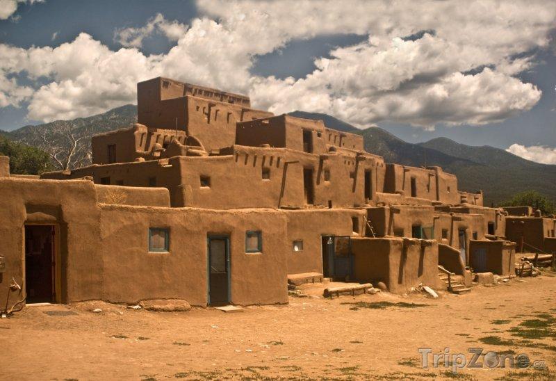 Fotka, Foto Historické městečko Taos Pueblo (Mexiko)