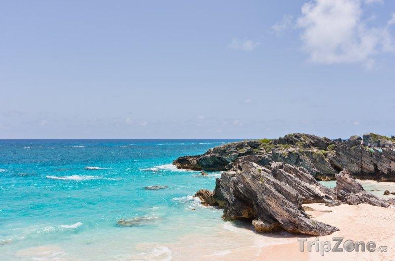Fotka, Foto Horseshoe Bay panorama (Bermudy)