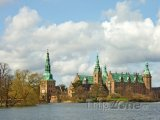 Hrad Frederiksborg ve městě Hillerød