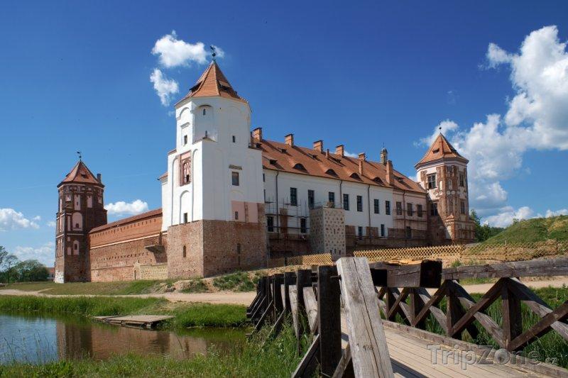 Fotka, Foto Hrad Mirsky ve městě Mir (Bělorusko)