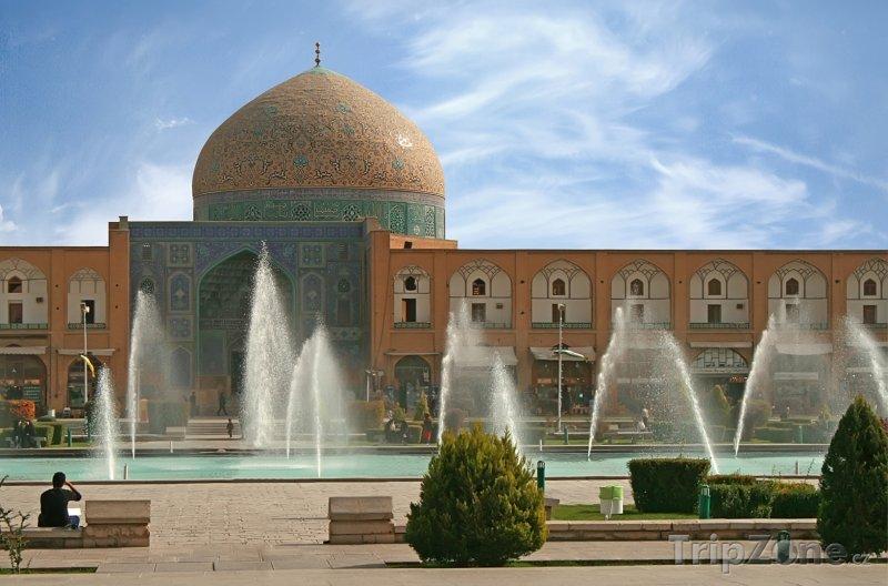 Fotka, Foto Isfahán, náměstí Nakš-e džahán (Írán)