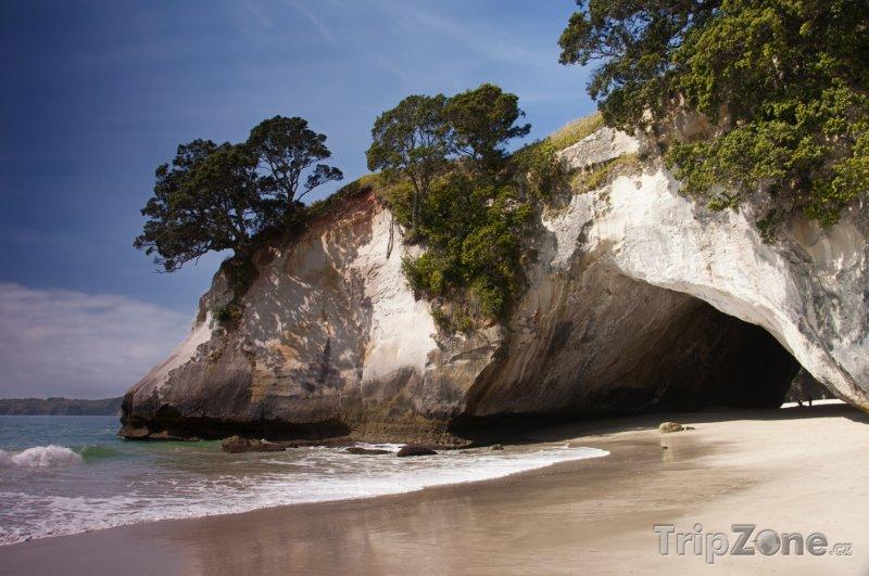 Fotka, Foto Jeskyně na poloostrově Coromandel (Nový Zéland)