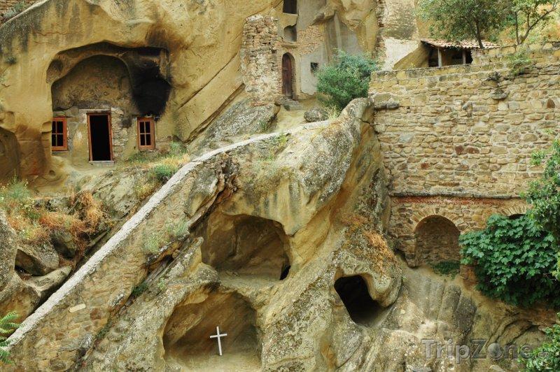 Fotka, Foto Jeskyně v komplexu David Gareja (Gruzie)