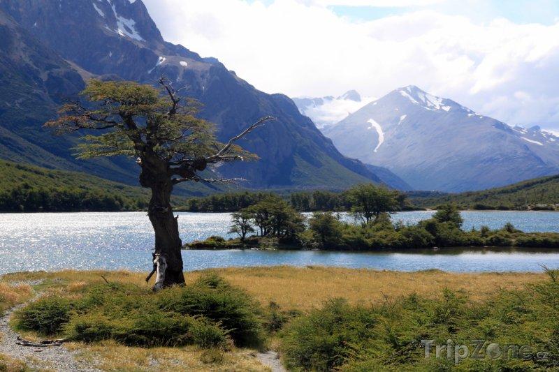 Fotka, Foto Jezero Lago del Desierto (Argentina)