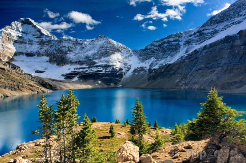 Fotka, Foto Jezero McArthur v Ontariu (Kanada)