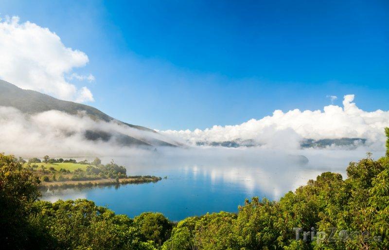 Fotka, Foto Jezero Rotoaira (Nový Zéland)