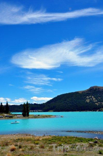 Fotka, Foto Jezero Tekapo (Nový Zéland)