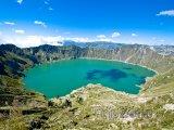 Kalderové jezero Quilotoa