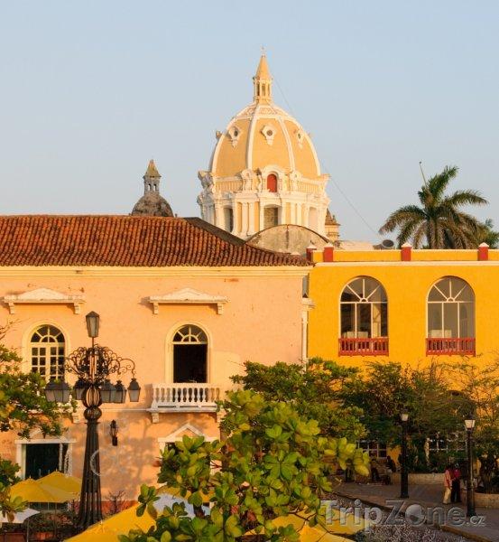 Fotka, Foto Katedrála v Cartageně (Kolumbie)
