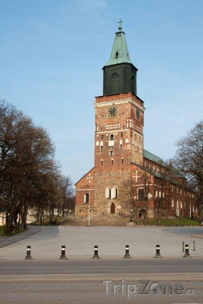 Fotka, Foto Katedrála v Turku (Finsko)