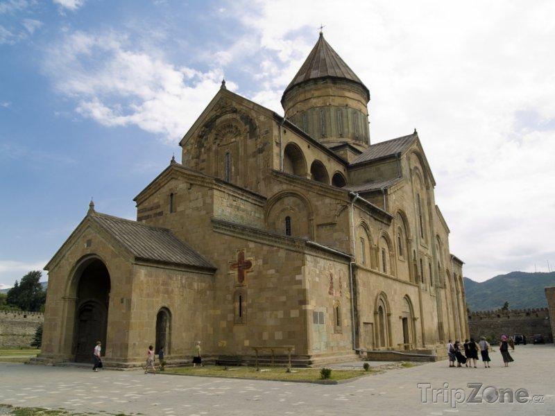 Fotka, Foto Katedrála ve městě Mccheta (Gruzie)