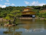 Kjóto, zlatý pavilon Kinkakudži