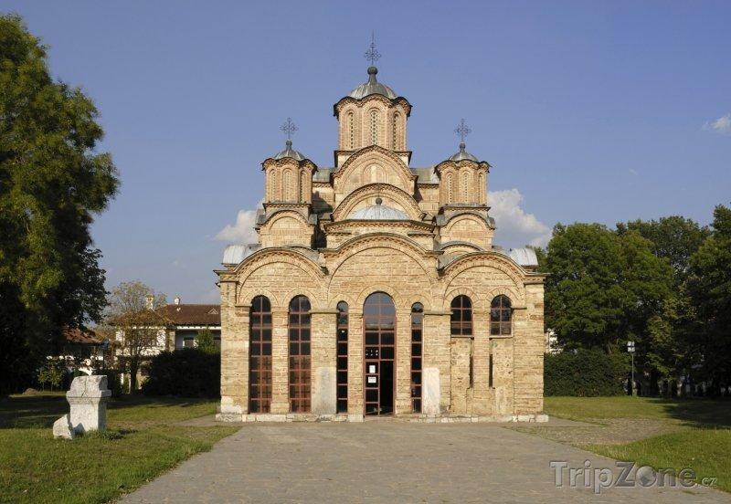 Fotka, Foto Klášter ve městě Gračanica (Kosovo)