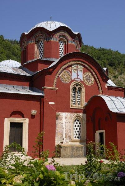 Fotka, Foto Klášter ve městě Peć (Kosovo)