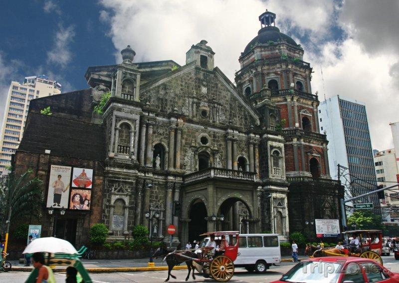 Fotka, Foto Kostel Binondo v Manile (Filipíny)